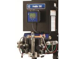 Graco ProMix 2KE 2K verfspuitinstallatie met flowmeters