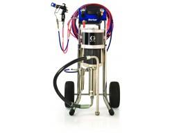 Graco Merkur 30:1 75cc airmix verfspuitinstallatie op kar