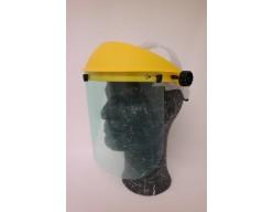 Gelaatsscherm met polycarbonaat ruit